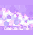 abstract lilac background with circles vector image