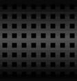 black geometric pattern background vector image vector image