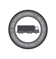 Delivery Object vector image vector image