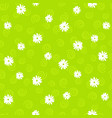 floral seamless pattern in doodle style on vector image vector image