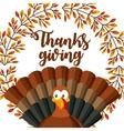 happy thanksgiving card vector image vector image