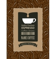 labels for coffee beans vector image vector image