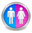 male female symbols vector image vector image