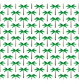 Palm trees seamless pattern background vector image vector image