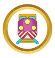 Train locomotive icon vector image vector image