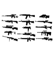 Weapons vector image vector image