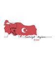 mustafa kemal portrait web banner with map