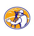 Surveyor Engineer vector image vector image
