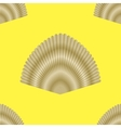 Exotic Seashell Seamless Pattern vector image vector image