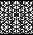 seamless pattern based on ornament kumikoblack vector image vector image