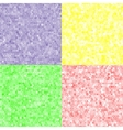 colored texture of hexagons vector image