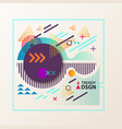 abstract geometric shapes for modern design vector image vector image