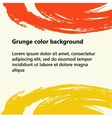 Abstract grunge background with space for your vector image vector image
