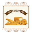 bakery design vector image vector image