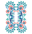 basic pattern blue vector image vector image