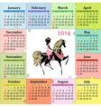 calendar5 vector image vector image