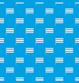 flag pattern seamless blue vector image vector image