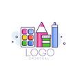 logo original creative concept template vector image vector image