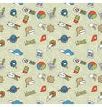 SEO Doodle Pattern vector image vector image