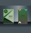 Sets of vertical business card print template