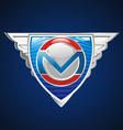 super emblem vector image vector image