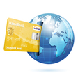 Internet Shopping and Electronic Payments Concept vector image