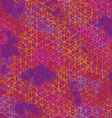 Abstract color geometric outline background vector image