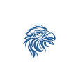 bird phoenix bird logo vector image