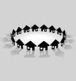 Community symbols vector image