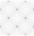 Geometric Mesh Seamless Pattern vector image