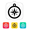 Compass icon Navigation sign vector image vector image