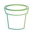 empty plant pot vector image