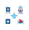 laundry logo icon vector image vector image