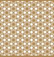 seamless pattern based on ornament kumikogolden vector image vector image