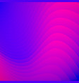 abstract blue and pink gradient color striped vector image vector image