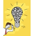 Business idea generator vector image vector image