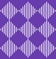 classic simple 1 color pattern background with vector image vector image