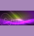 Color shiny neon lights background with abstract