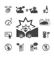 do not use your phone while driving icons set for vector image vector image