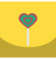 flat icon design collection bonbon candy vector image vector image