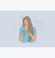 health care trouble medicine stress concept vector image