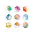 multicolored abstract stories highlights cover vector image vector image