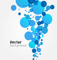 water bubble vector image vector image