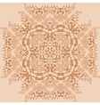 Curls and fire flowers Ornament Pattern vector image