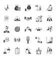 Set of Icons Business Competition vector image