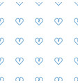 broken heart icon pattern seamless white vector image vector image