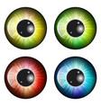 eye pupil iris symbol icon design beautiful