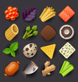 food icon set-2 vector image