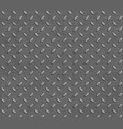 metal background with pattern textured steel plate vector image vector image