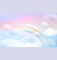 sky background and pastel color eps 10 vector image